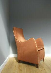 Wittmann Designer Sessel Senta Terracotta Krefeld