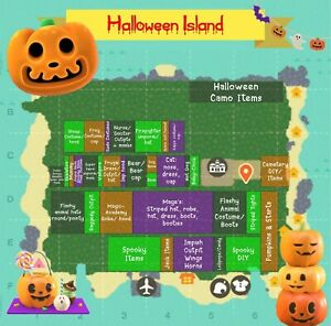 Treasure Islands! Spooky Themed with the Spooky items, DiY's and costumes