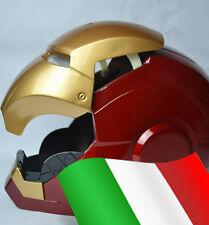 IRON MAN casco Helmet Motorizzato Vocale Action Figure con Led 1:1 mark 3 4 6 7