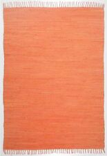 THEKO Teppich handgewebt 90x160 Cm Apricot