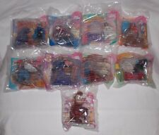 1996 McDonalds ALADDIN KING OF THIEVES - COMPLETE SET 1-8 Happy Meal Toys + NEW