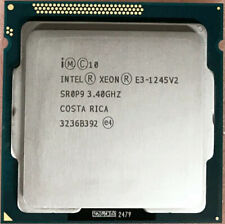 Intel Xeon E3-1245 V2 CPU 4-Cores 3.40GHz 8MB SR0P9 5GT/s LGA115 Processor
