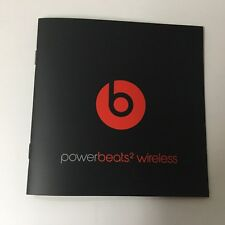 Power beats 2 Wireless Earbuds Headphones Manual Book Only