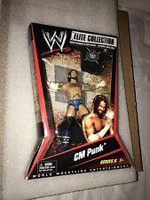 WWE MATTEL Elite Collection Series 6 CM PUNK Figure Hardcore shirt RARE MOC NEW