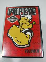 Popeye Volumen 1 - Episodios 1-3 - DVD Region 2 Español