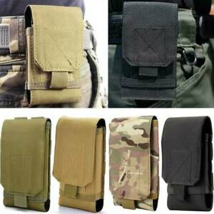 Mobile Phone Belt Pouch Holster Cover Case Size Phone Camouflage Bag Waist Case