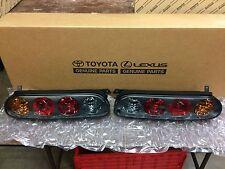 Toyota Supra JZA80 97-98 Genuine Toyota OEM tail light Set