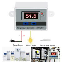 Incubator Digital Temperature Controller Thermostat Control With Switch+Probe