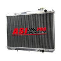2 ROW Aluminum Radiator For Nissan Navara D22 3.0L 3.3L 6cyl V6 Petrol 97-05 AU