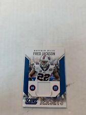 Fred Jackson 2015 Score Jersey Card #J-FJ