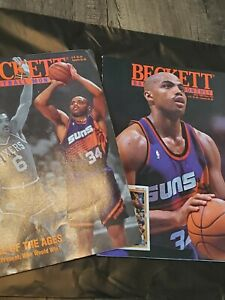 Beckett Basketball Card Lot of 2 Charles Barkely Covers