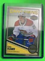 2019-20 OPC Platinum Retro Rookie #R-99 Cale Fleury Montreal Canadiens RC