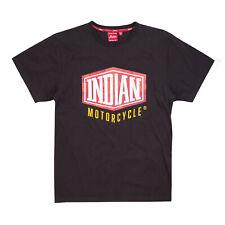 Genuine Indian Motorcycle Men's Shield Camo T-Shirt, Black  S  #286968402