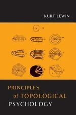 Principles of Topological Psychology by Kurt Lewin (2015, Paperback)