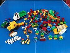 LEGO DUPLO PERSONNAGE VOITURE FERME ZOO MAISON BRIQUES GROS LOT + 2,0 KG N°10