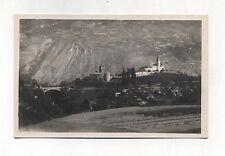 Cartolina INTROD Panorama e castello Val di Rheme - Anni 30 Postcard Cometto
