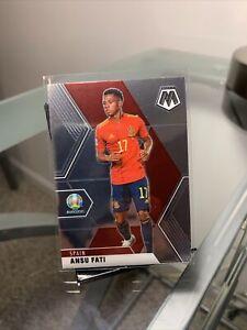 2021 Mosaic UEFA Euro Soccer ANSU FATI ERROR CARD BACK Of CARD 1 Of 1 eBay 1/1