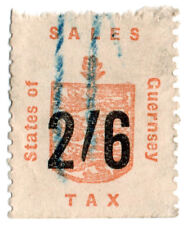 (I.B) Guernsey Revenue : Sales Tax 2/6d (German Occupation)