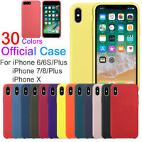 Silicone Luxury Ultra-Thin Protective Case for iPhone X 8 Plus 7 6