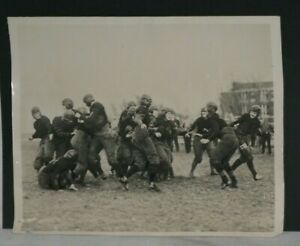 RARE! 1924 Girls Gustavus Adolphus College Football, Vintage 1 Game Action Photo