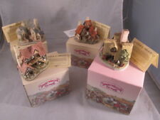 4 David Winter Cottages, 1983 with Original Boxes & Coas Wow!