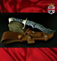 Damasacus hunting knives collectable 074 Limited edition Hunting knife KingForge