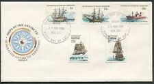 AAT - 1980 'SHIPS OF THE ANTARCTIC' Series I First Day Cover [C3204]
