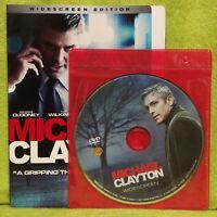 Michael Clayton (DVD, 2008, Widescreen) George Clooney, Tom Wilkinson