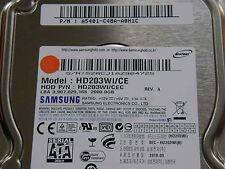 2 TB Samsung HD203WI /CEC / A5401-C48A-A0H1C / 2010.09 - disco rigido hard disk