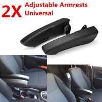 Pair Universal Car Adjustable Comfort Seat Armrest Console Arm Rest Truck Van