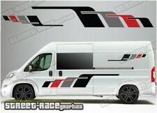 Motorhome Camper Race van 036 graphics sticker Fiat Ducato Citroen Relay Boxer