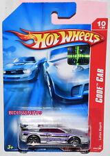 HOT WHEELS 2007 CODE CAR LOTUS ESPRIT #094/180 SILVER & PURPLE FACTORY SEALED
