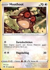 Pokemon - 143/202 Hoothoot - Schwert & Schild 1 - Deutsch