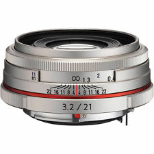 New HD PENTAX DA 21mm F3.2 AL Limited Lens SILVER K Mount Pentax-DA