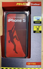 Pelican CE1150 Protector Series Progear Case Apple iPhone 5 5S SE New Black/Grey