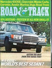 Road & Track Magazine June 1973 Mercedes-Benz 450SE VGEX No ML 042417nonjhe