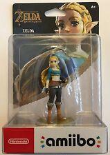Breath of the Wild Legend of Zelda Princess Amiibo Wii U Switch sealed BOTW new