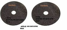 "APPLE or EASTON SAW BLADES 2-PK 4""  ARCHERY ARROW FITS EASTON"