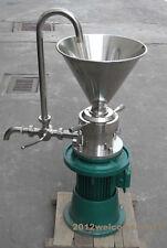 Vertical Sesame soybean Peanut Butter colloid mill grinder JML-65 110V/220V