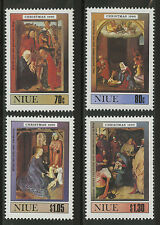Niue  1990   Scott #   589-5925     Mint Never Hinged Set