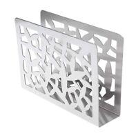 Porte-Serviettes en Acier Inoxydable de Table Porte-Serviettes Papier Porte S1V6