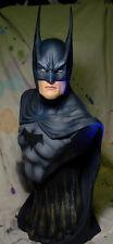 "BATMAN DARK KNIGHT 22"" BUST PROFESSIONAL PAINT Great Sculpt & Long Ears"