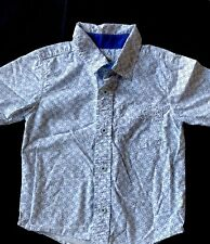 NEW Old Navy Boys 2T 4T Short Sleeve WHITE Polo Shirt Soft Washed Cotton #21418
