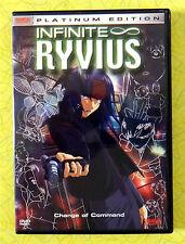 Infinite Ryvius - Vol. 4: Change of Command ~ DVD Movie ~ Bandai Anime Video