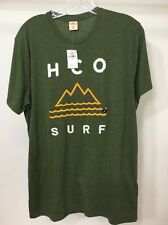 New Men's Hollister T Shirt Short Sleeve Size M Olive Green