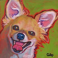 Chihuahua Long Hair Print 8x10 by Lynn Culp (LC041) - Free Shipping