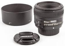 Nikon AF-S 50mm 1,8 G Nikkor SHP55543