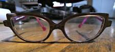 "ANNE ET VALENTIN-France ""MIA""1476 Rose/Brown Frames-Kids/Youth Cateye Eyeglasses"