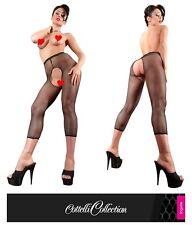 Leggings a rete con inguine aperto Cottelli Sexy shop toys intimo donna erotico