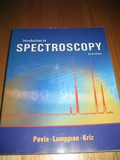 Introduction To Spectroscopy Third edition book Pavia Lampman Kriz